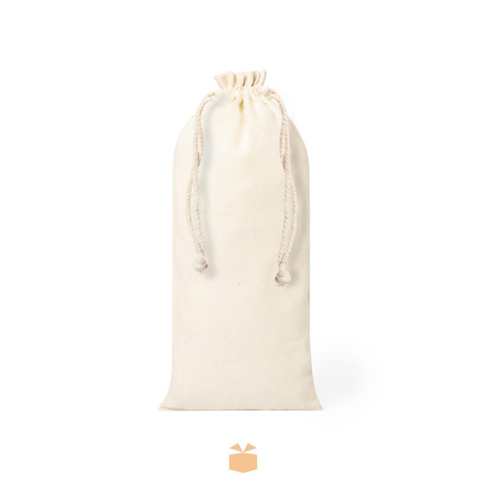 Bawełniany worek na butelkę z logo