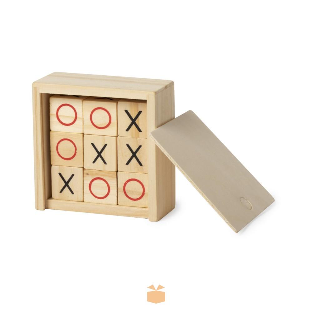 Gra kółko i krzyżyk z logo